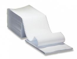 """Tabelační papír - 375x12"""", 1+0, BP, 2000 listů"""
