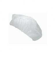 Jednorázová čepice - PP, bílá, 100 ks
