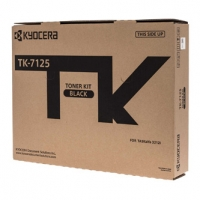 Kyocera originální toner 1T02V70NL0, black, 20000str., TK-7125, Kyocera TASKalfa 3212i, O