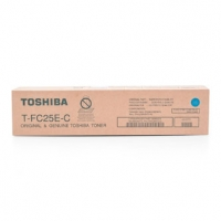 Toshiba originální toner TFC25EC, cyan, 26800str., 6AJ00000072, Toshiba e-Studio 2040c, 2540c, 3040c, 3540c, 4540c
