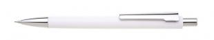 Mikrotužka Ampio - 0,5 mm, kovová, bílá