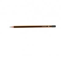 Grafitová tužka Deli E37015 - č.1, 2B, trojhranná