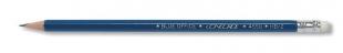 Grafitová tužka s gumou Concorde Blue Office 4550 - č.2, tvrdost HB