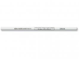 Grafitová tužka Koh-i-noor 3263/6 - na hladké plochy, bílá