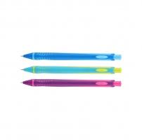 Mikrotužka Deli Ergo Neon EU60800 - s gumou, 0,5 mm, plastová, mix barev - DOPRODEJ
