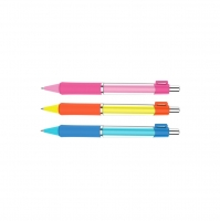 Mikrotužka Deli U-Touch EU61500 - s gumou, 0,5 mm, plastová, mix barev - DOPRODEJ