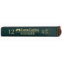 Tuhy Faber Castell - 2B, 0,5 mm, 12 ks