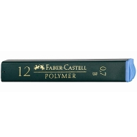 Tuhy Faber Castell - B, 0,7 mm, 12 ks