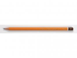 Grafitová tužka Koh-i-noor 1500 - 2B, technická