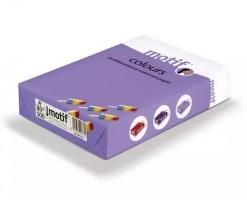 Barevný papír A4 Motif Color - lososová, 160 g, 250 listů - DOPRODEJ
