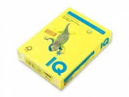 Barevný papír A3 IQ Color - intenzivní kanárkově žlutá, 80 g, 500 listů