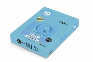 Barevný papír A4 IQ Color - intenzivní azurová, 80 g, 500 listů