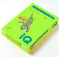Barevný papír A3 IQ Color - neonová zelená, 80 g, 500 listů