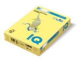 Barevný papír A4 IQ Color - pastelová světle žlutá, 160 g, 250 listů