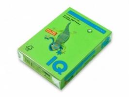 Barevný papír A4 IQ Color - pastelová středně zelená, 160 g, 250 listů