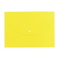 Spisové desky s drukem A4 Deli Rio E38131 - plastové, žluté