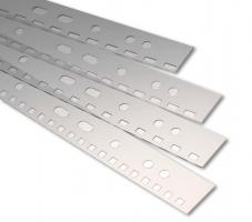 Závěsné pásky do pořadače s euroděrováním - samolepící, 100 ks
