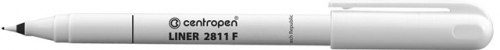 Mikrofix Centropen Liner 2811 F - 0,3 mm, černý