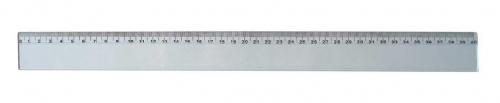 Plastové pravítko - 40 cm, transparentní